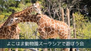 よこはま動物園ズーラシアで遊ぼう会