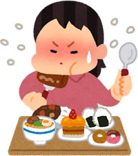 過食症の女性