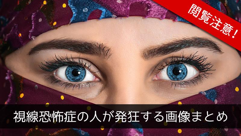 視線恐怖症の人が発狂する画像まとめ