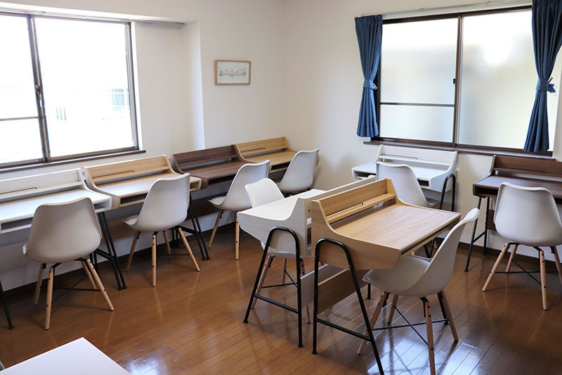 フリースクールRiz学習室