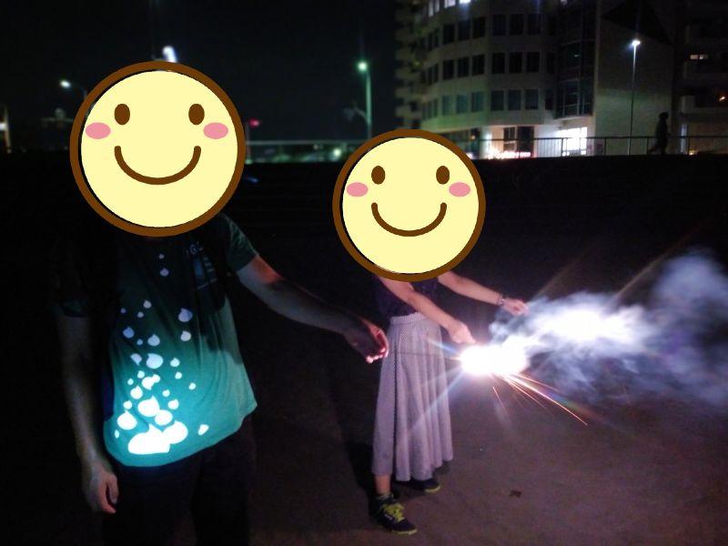 江の島の花火